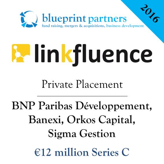Deals blueprint linkfluence series c malvernweather Gallery