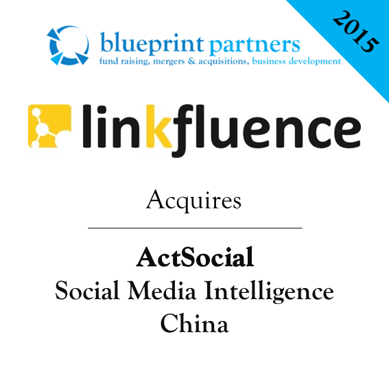 Deals blueprint linkfluence acquires actsocial malvernweather Gallery