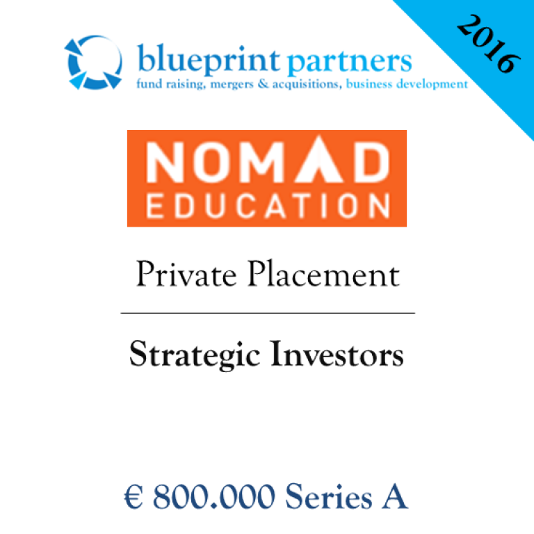 Deals blueprint nomad education private placement malvernweather Gallery