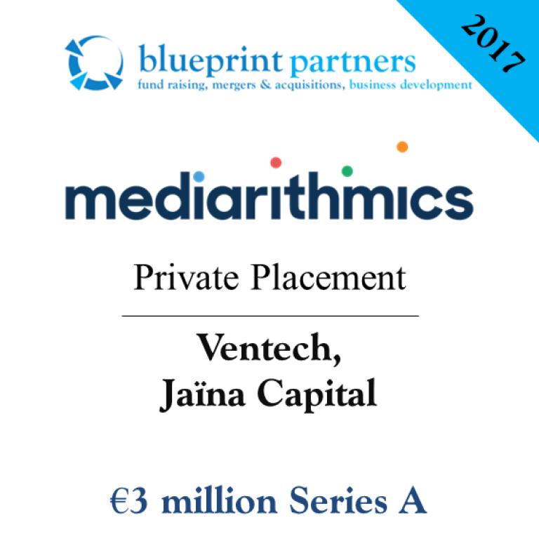 Deals blueprint mediarithmics lve 3 millions deuros conseille par blueprint partners malvernweather Image collections