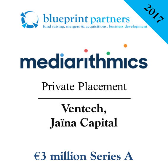Deals blueprint mediarithmics lve 3 millions deuros conseille par blueprint partners malvernweather Gallery