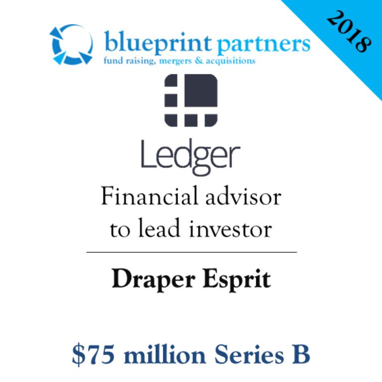 Deals blueprint ledger raises 75m series b led by draper esprit malvernweather Images