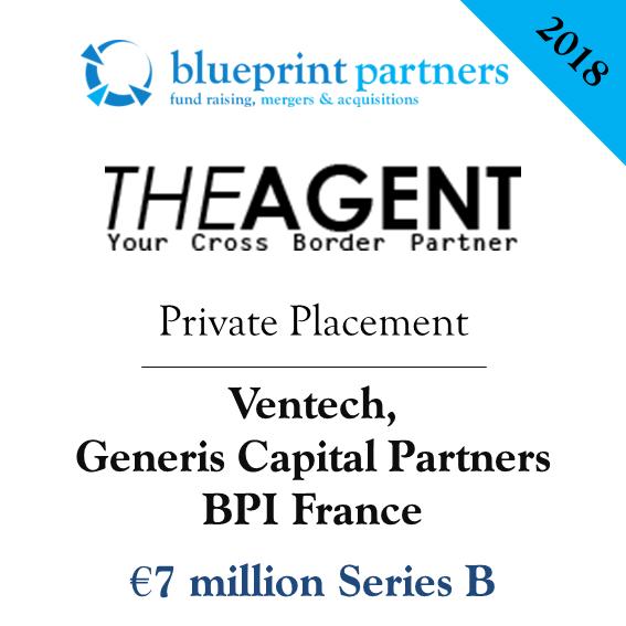 Deals blueprint the agent lve 7m auprs de ventech generis capital partners et bpi france malvernweather Image collections